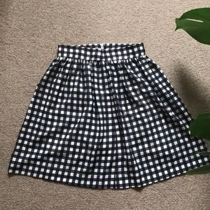 Urban Outfitters Silence + Noise Gingham Skirt
